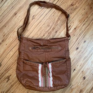 Target Leather purse